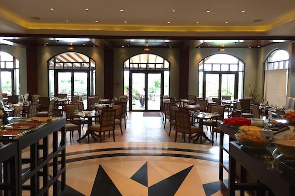 The Dining Room at Ambrosia Restaurant Hyatt Regency Thessaloniki