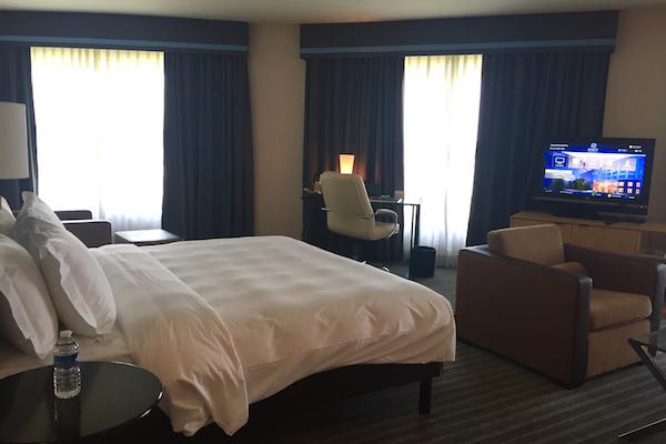Hyatt Regency Charles de Gaulle Club Deluxe Suite