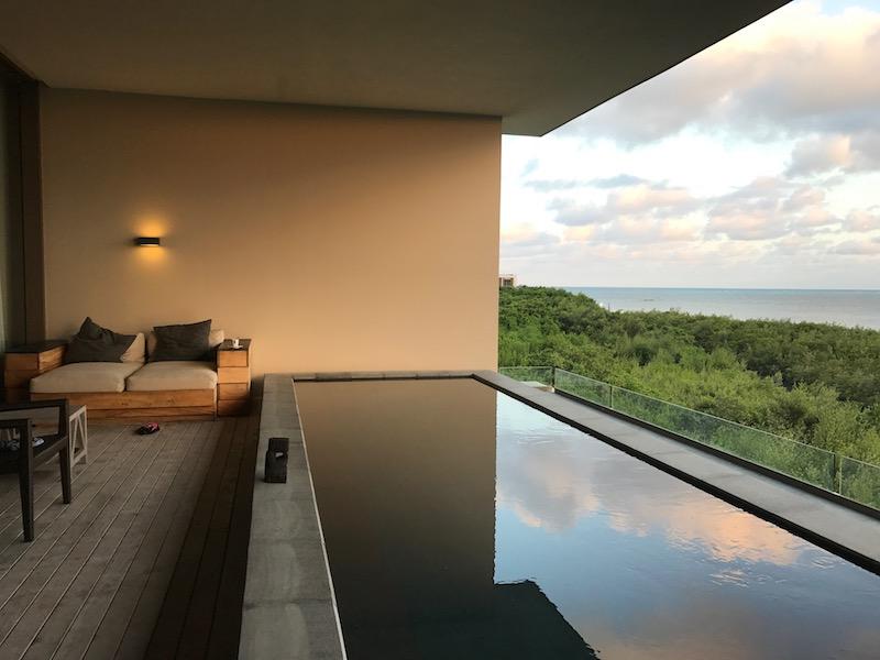 Nizuc Cancun Pool Suite Review