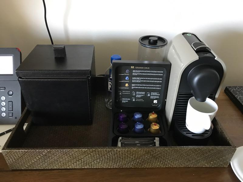 Nizuc Cancun Nespresso machine
