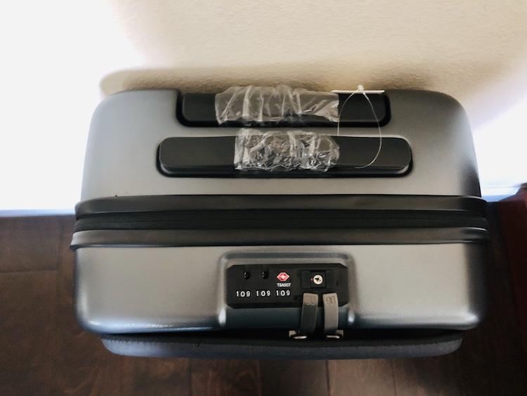 TSA Lock on the Xiaomi 90FUN Passport Carry-on Bag