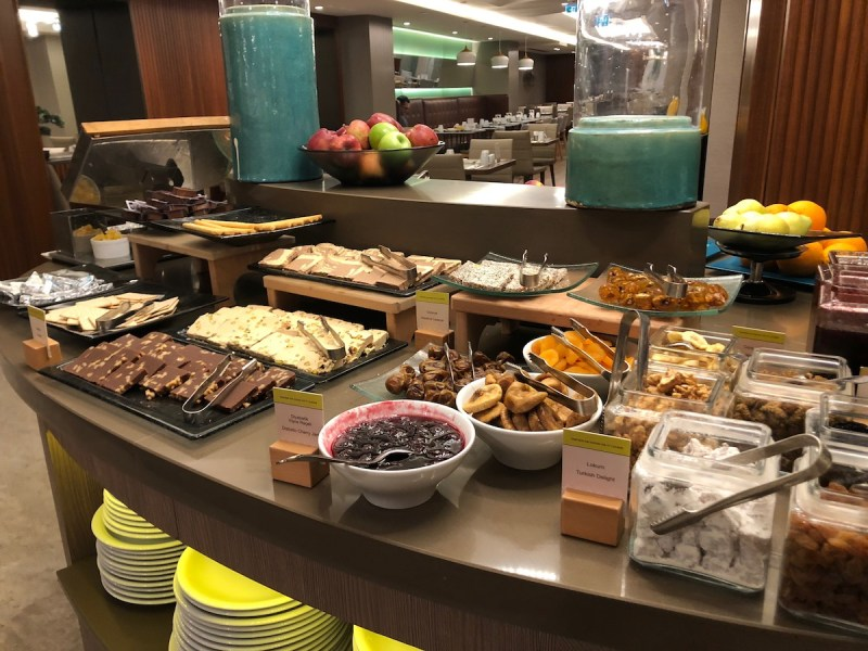 Doubletree Istanbul Sirkeci breakfast pastry review