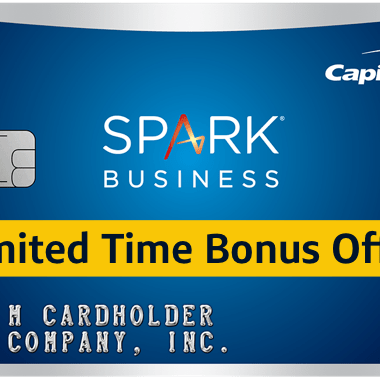 200,000 Mile Capital One Spark MilesBusiness Card Offer Review