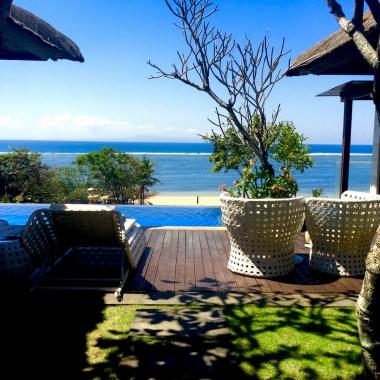 Conrad Bali Penthouse Suite Pool Deck