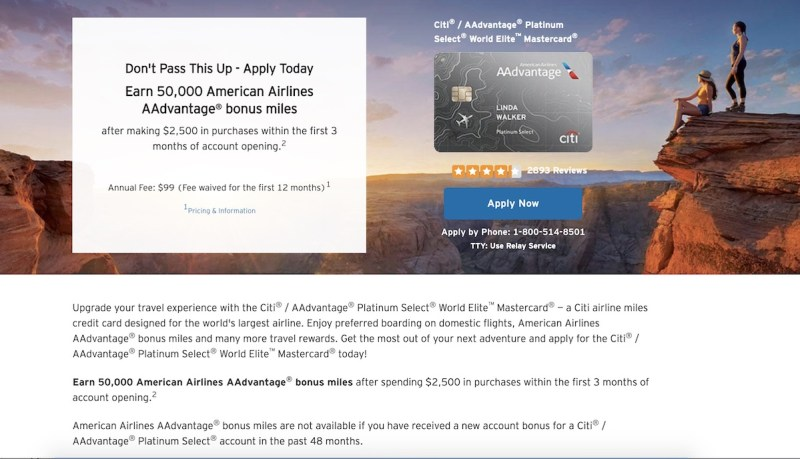 Citi Mastercard Sign In >> Citi Adds 48 Month Restriction On Aadvantage Credit Cards
