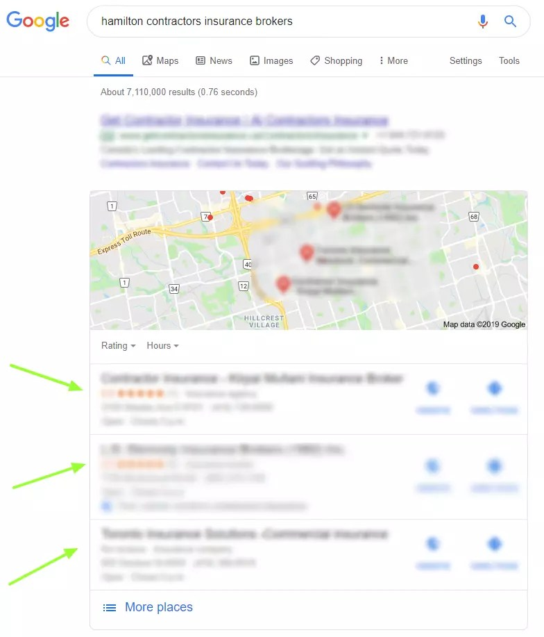local seo listings for brokers