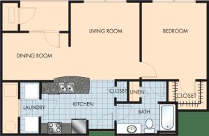 1 Bed / 1 Bath / 882 sq ft / Rent: $1,380