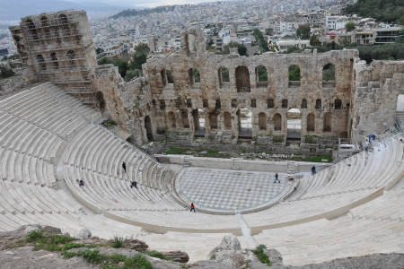 Odeon of Herodes Atticus - Acropolis