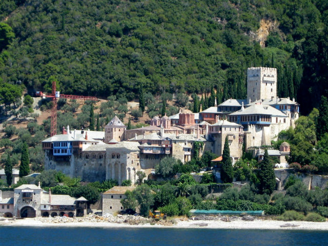 Monastery Dochiariou Athos