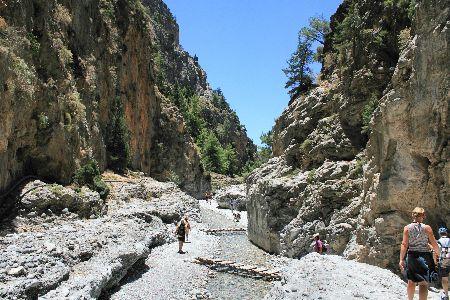 Samaria Gorge National Park
