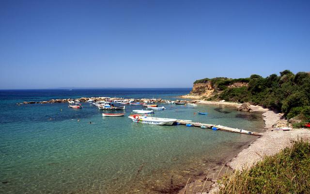 Porto Roma beach-ZAKYNTHOS BEACHES