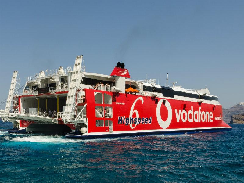 Highspeed Hellenic Seaways Santorini - Greece