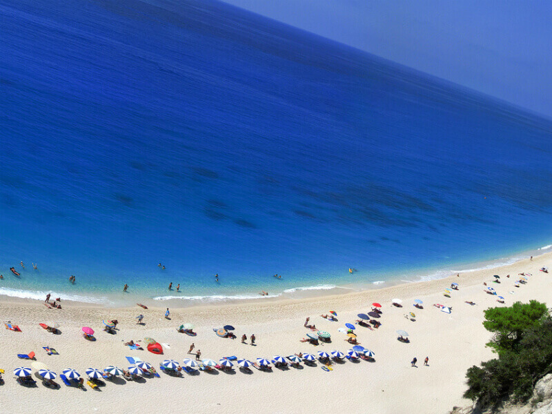 Egremni beach - Παραλία Εγκρεμνοί Λευκάδας