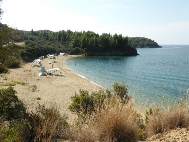 Azapiko Beach Sithonia Halkidiki