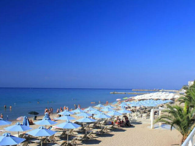 Nea Kallikratia Beach Kassandra Halkidiki