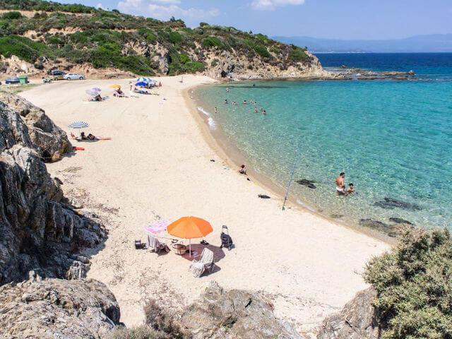 Voulitsa Beach Athos Halkidiki