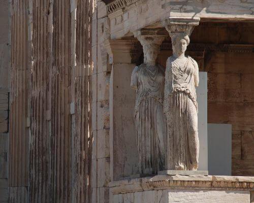 Column Sculpture Parthenon