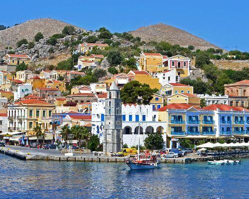 Greek Island bay
