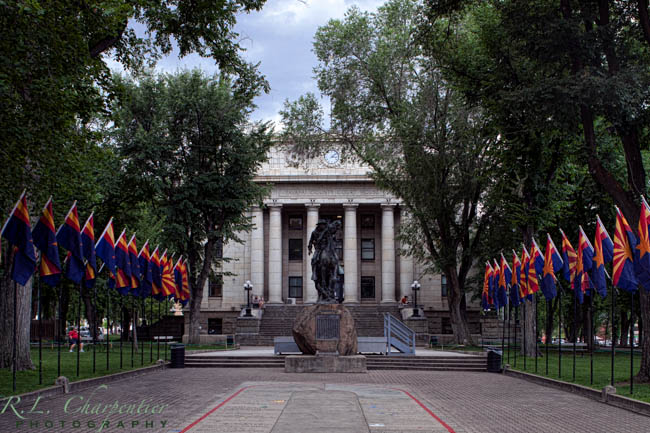The Yavapai County Courthouse