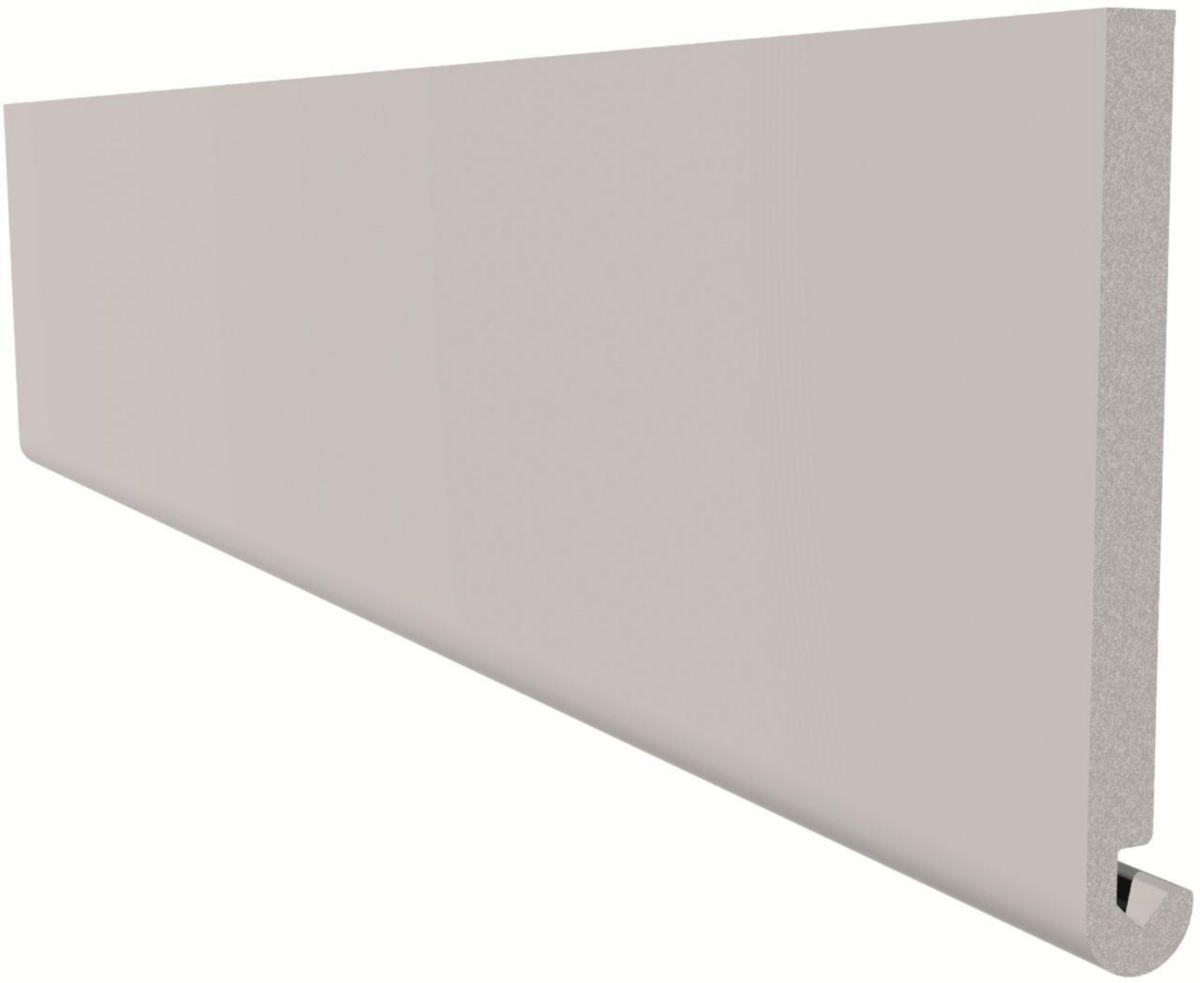 Freefoam Plastics Planche De Rive Arrondie Pvc Blanc L 5 M L 225 Mm Ep 15 Mm Point P