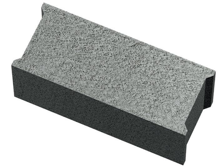 Seac Bloc Beton Plein B80 500x100x200 Mm Point P