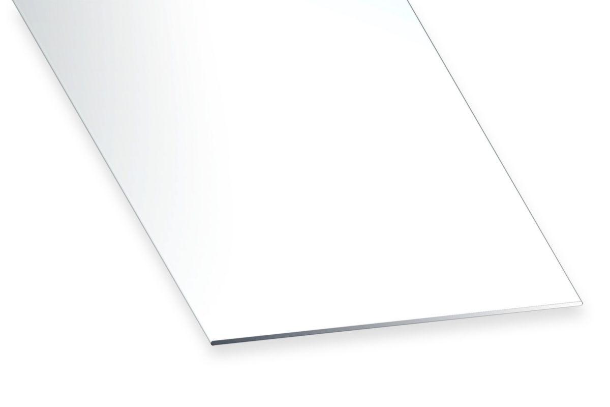 Cqfd Plat Pvc Blanc L 100 Mm Ep 2 Mm L 2 6 M Point P