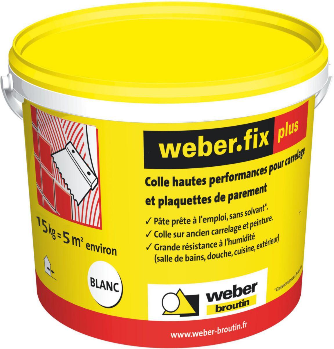 weber colle a carrelage weberfix plus