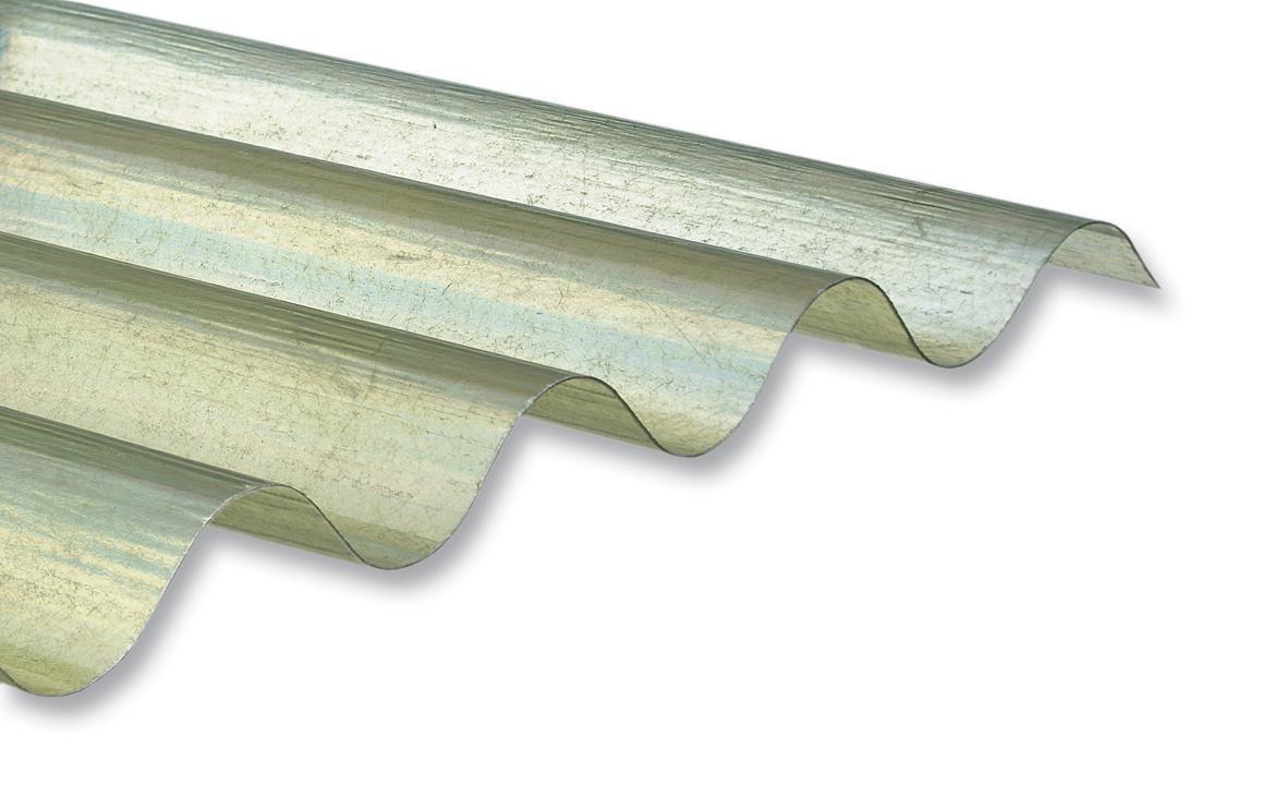 Onduline Plaque Ondulee Grande Onde Polyester Go 92 5 Ondes 1 2 3 04 M X 0 92 M Epaisseur 1 2 Mm Incolore Point P