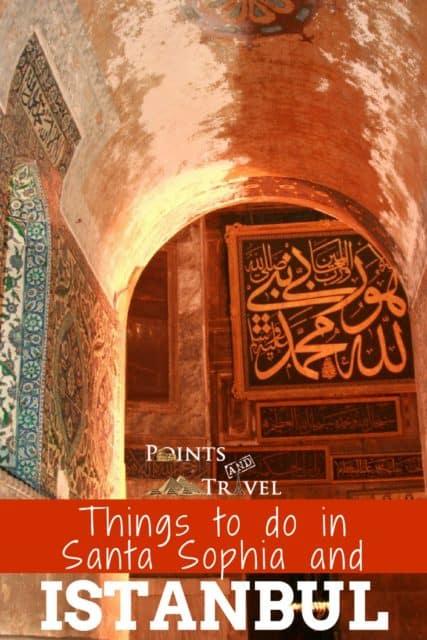 Hagia Sophia in Istanbul, Turkey - Things to do in Santa Sophia and Istanbul