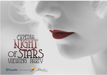Screen Shot Expedia Night Stars