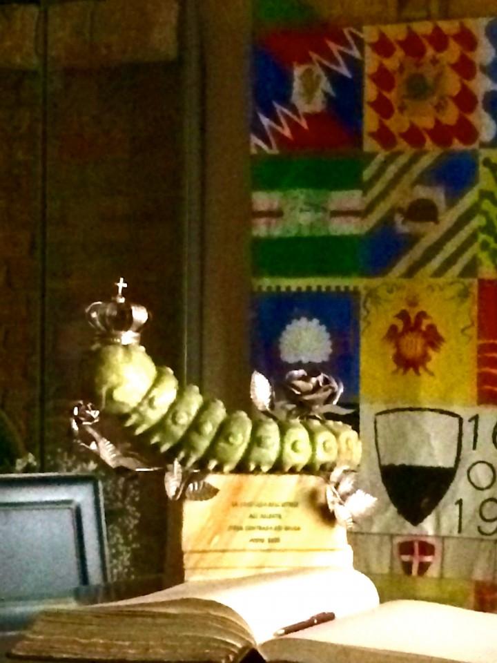 Caterpillar Contrada, Siena, Italy