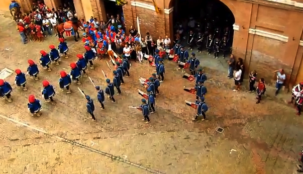 Parades of The Palio, Siena, Italy