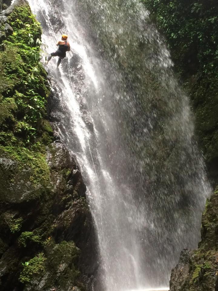 Waterfall near Blue Osa, Costa Rica