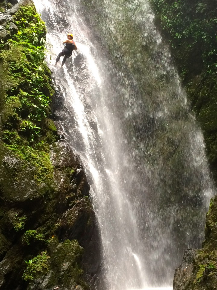Cape Matapalo, Costa Rica, King Louie Waterfall
