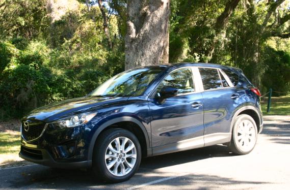 Mazda CX-5, STI Drive Experience