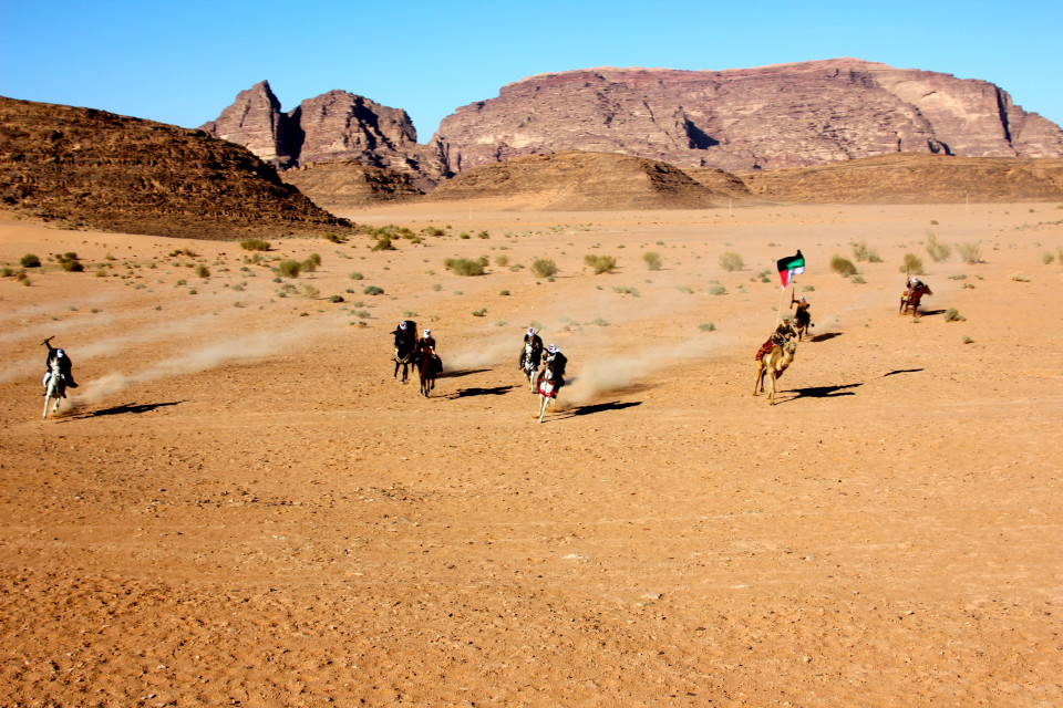 The Top Things To Do In Jordan, Lawrence of Arabia Re-enactment