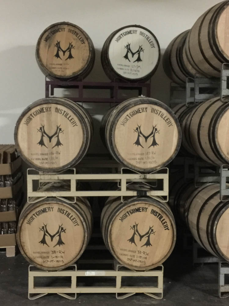 Cocktails at Montgomery Distillery