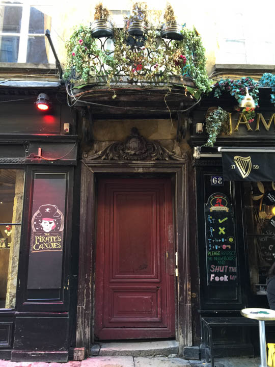 Southern France, Viking Tours, French flowers, Lyon street scene, Lyon door