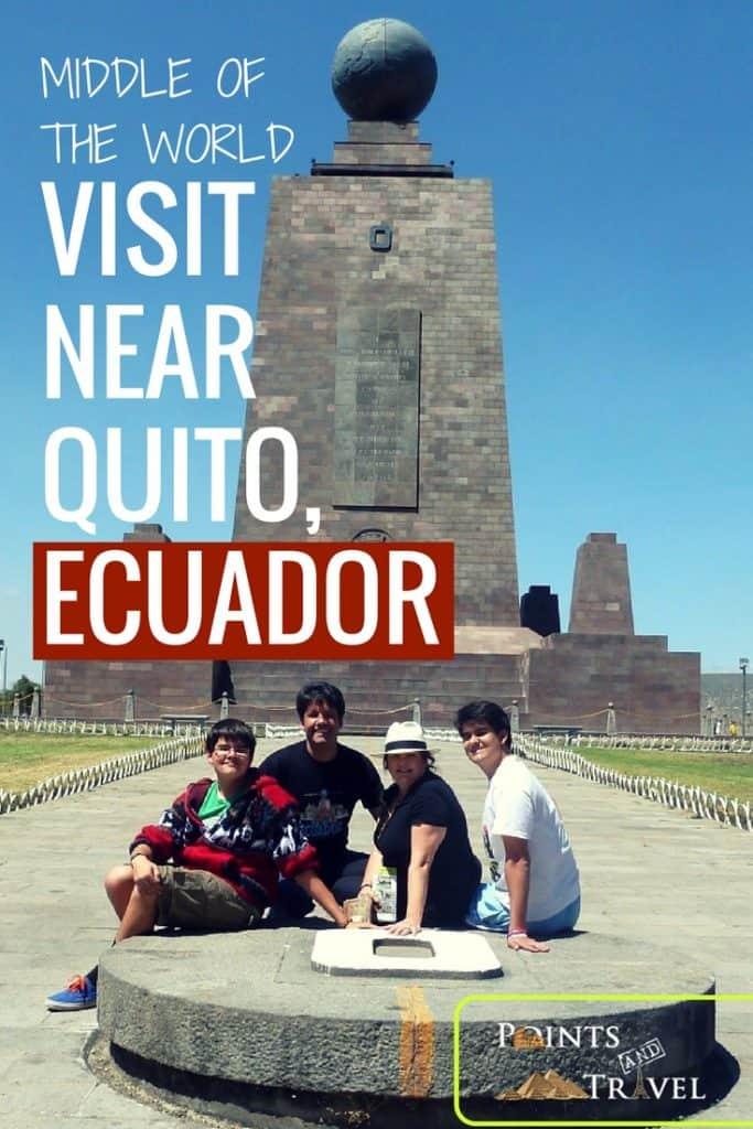 Mitad del Mundo, Middle of the World , Quito, Equator, Latitude 0 longitude 0