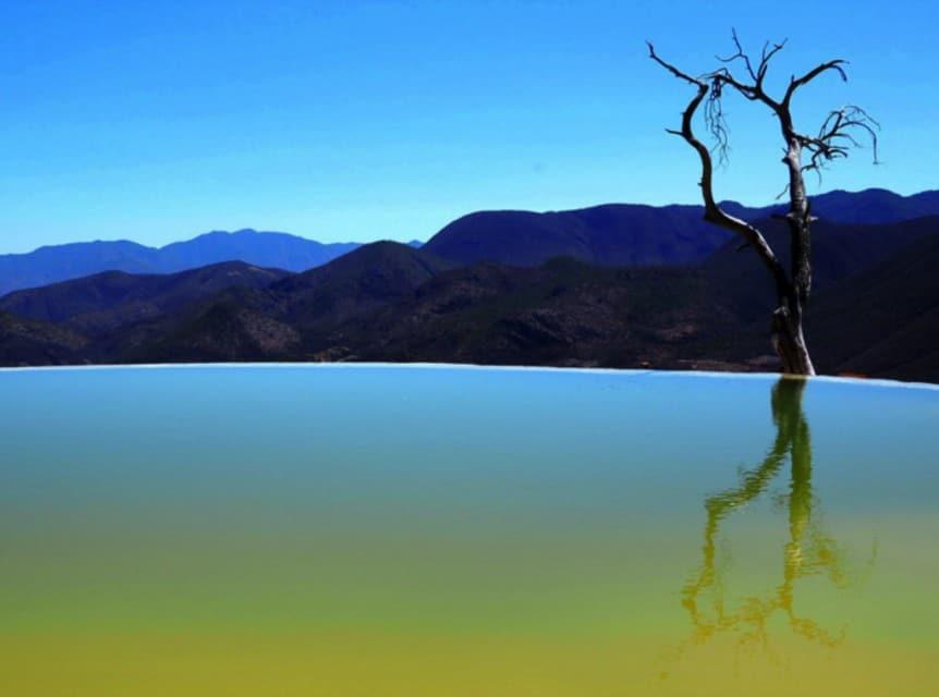 Hierve del Agua, Oaxaca, Mexico, One of many Popular Mexican Destinations