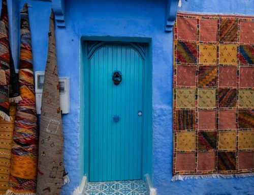 The Moroccan Town Drenched in Blue
