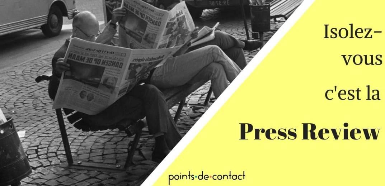 Isolez-vous - Press Review Severine Loureiro - Experience Collaborateur