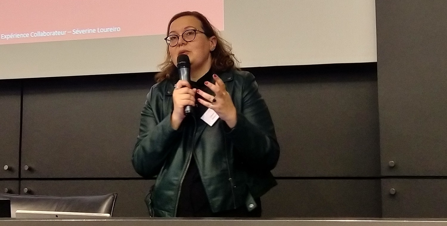 Keynote Experience Collaborateur Severine Loureiro