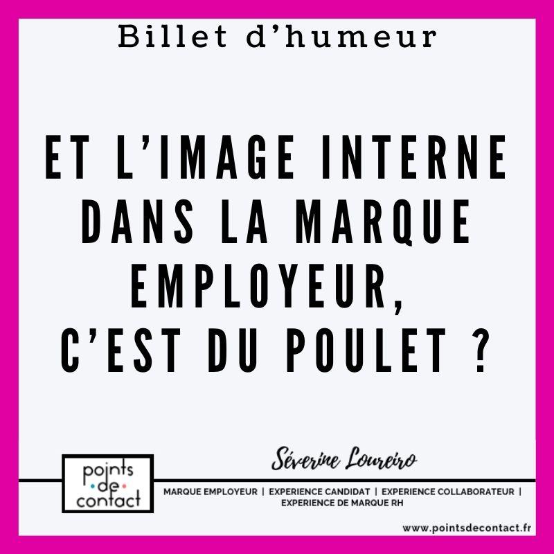 Billet d'humeur - Severine Loureiro - Image interne dans la marque employeur
