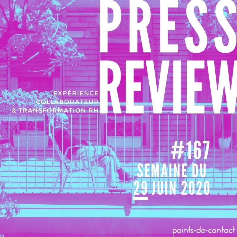 Press Review #167 RH Experience Collaborateur Séverine Loureiro