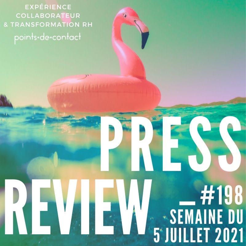 Press Review #198 RH Experience Collaborateur Séverine Loureiro