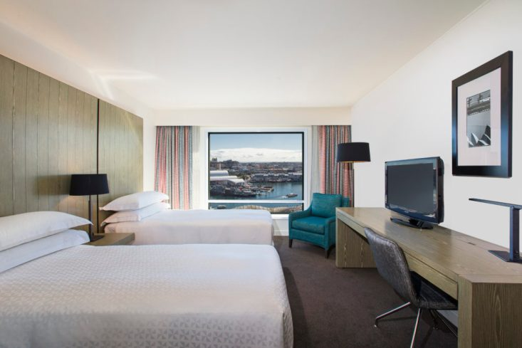 Hyatt Regency Sydney Standard Twin Rooms