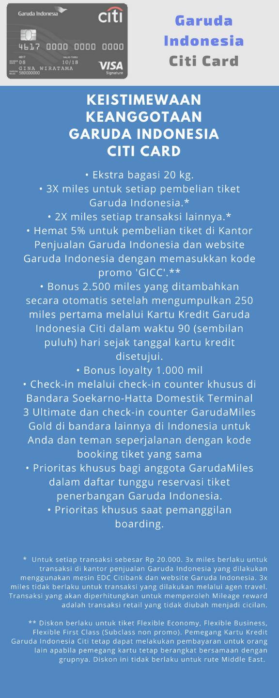 Kartu Kredit Dengan Co Brand Garuda Indonesia Points Geek