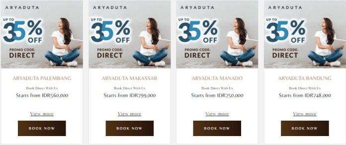Pesan Langsung Dapatkan Diskon 35 Di Hotel Aryaduta Points Geek