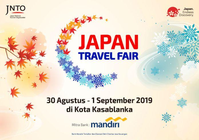 Japan Travel Fair 30 Agustus 1 September 2019 Points Geek